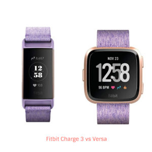 Fitbit Charge 3 vs Versa