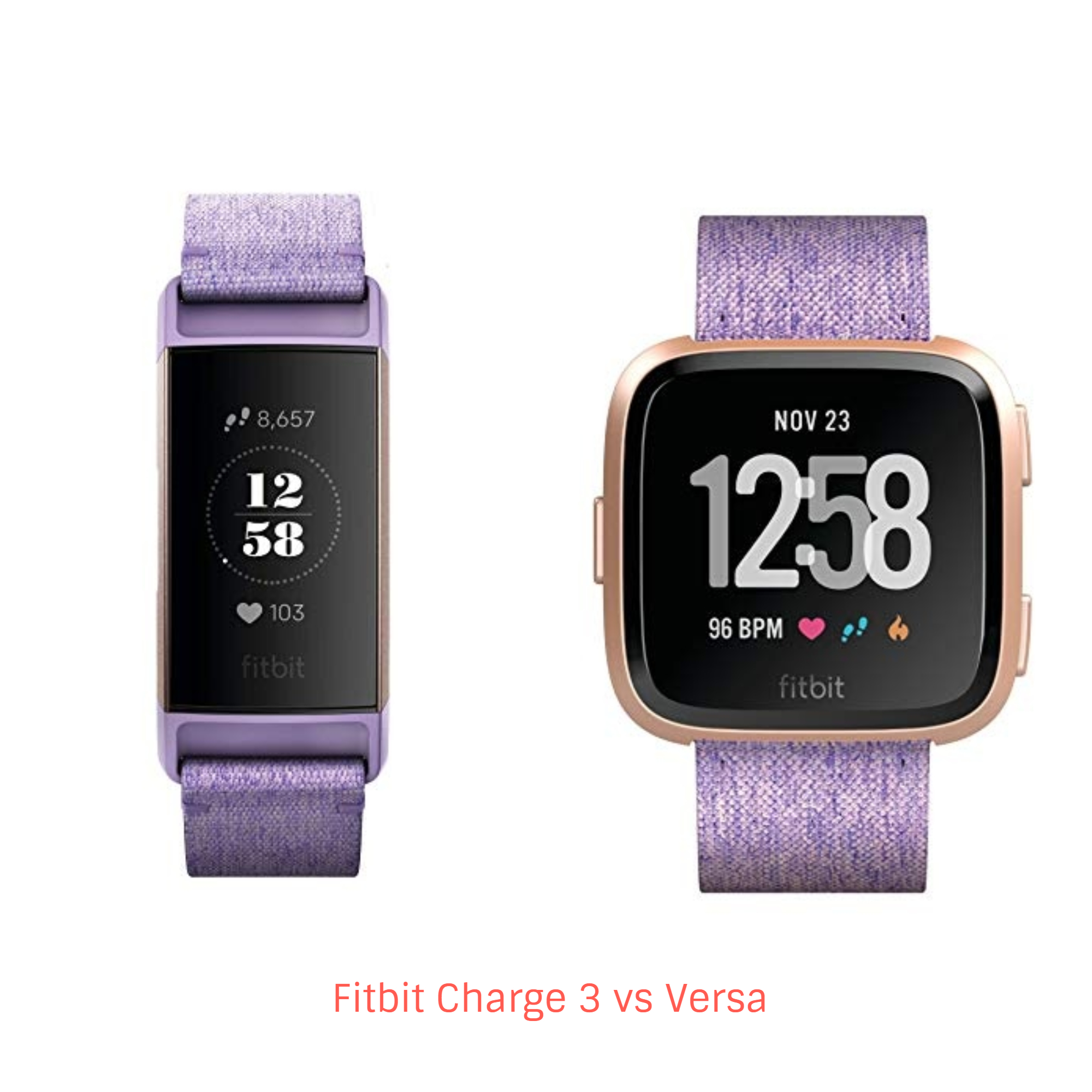 Fitbit Charge 3 vs Versa – A Comparison You Need To Check - Techwhiff