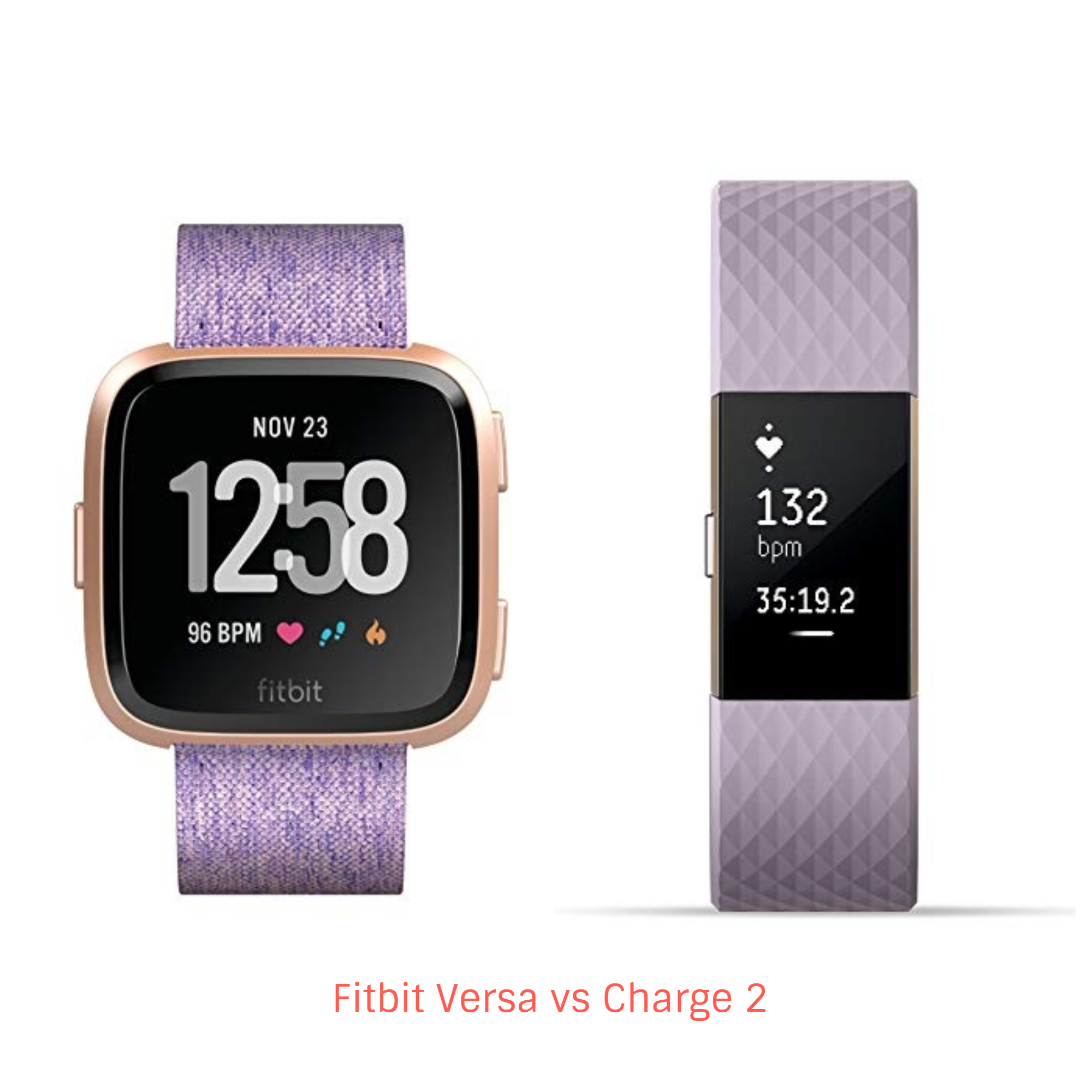 Fitbit Versa vs Charge 2 – Which Heart Rate Tracker You Should Choose? -  Techwhiff