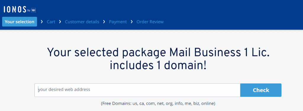 1 and 1 webmail