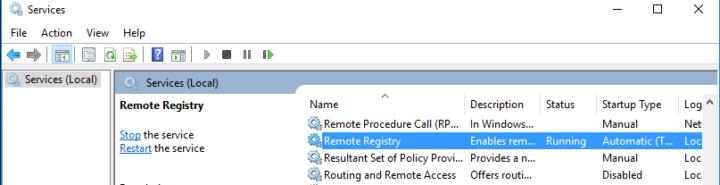 enabling remote desktop remotely
