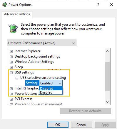 fix mouse freezes windows 10